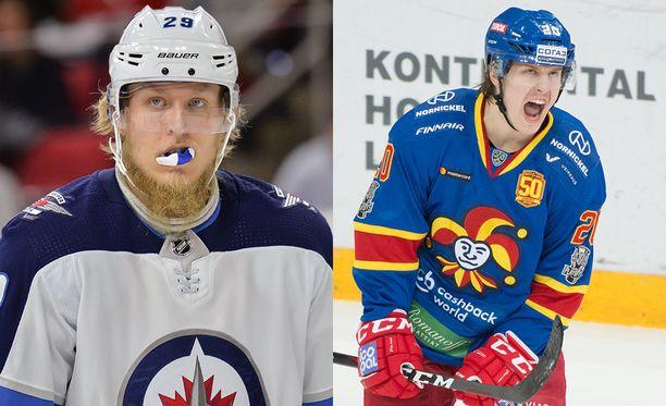 Patrik Laine ja Eeli Tolvanen kohtaavat NHL:n pudotuspeleissä, jos kaikki menee nappiin.