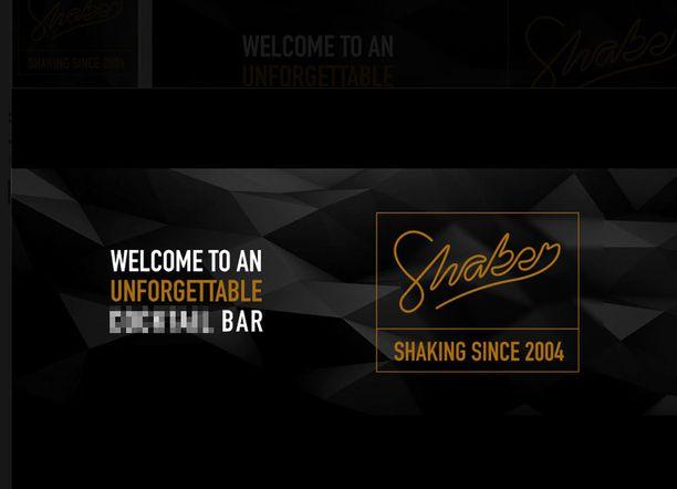 Jyväskyläläinen Shaker-baari muokkasi jo Facebook-sivunsa niin, että cocktail-sana sumennettiin sieltä.