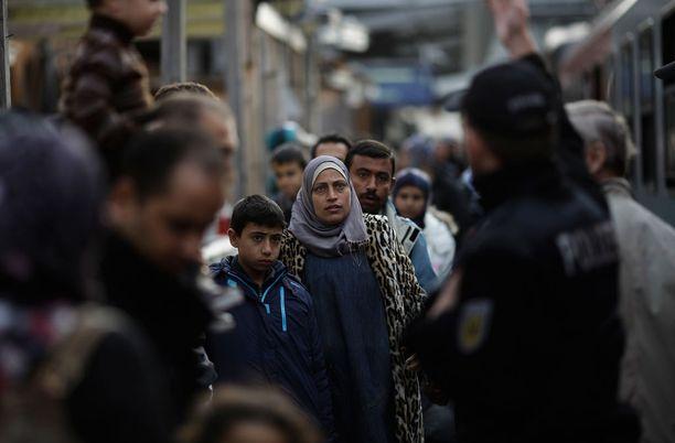 Viime syksynä pakolaisia saapui hurjaa tahtia Saksaan. Nyt vauhti on laantunut.