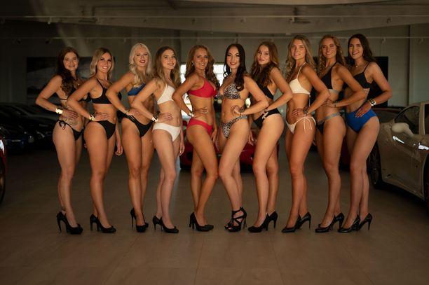 Pian joku näistä kaunottarista kantaa vuoden 2020 Miss Tampere -titteliä.