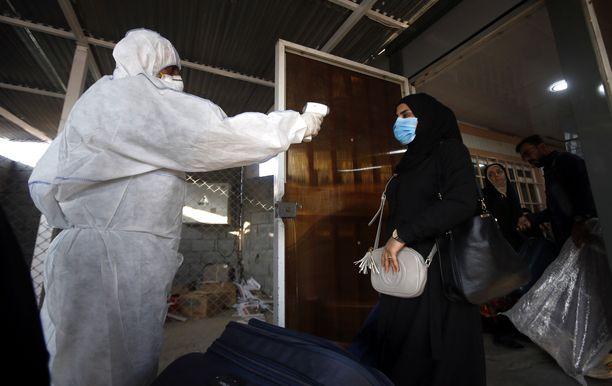 Iranista tulleita tutkittiin Irakin Basrassa.