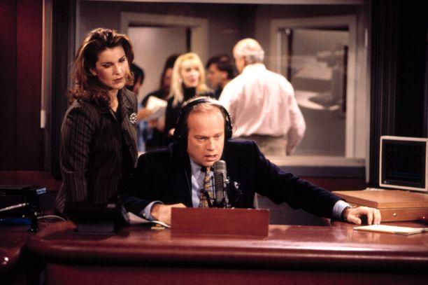 Frasier toimi sarjassa radiopsykiatrina.