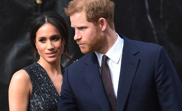Meghan Markle ja prinssi Harry vihitään tulevana lauantaina.
