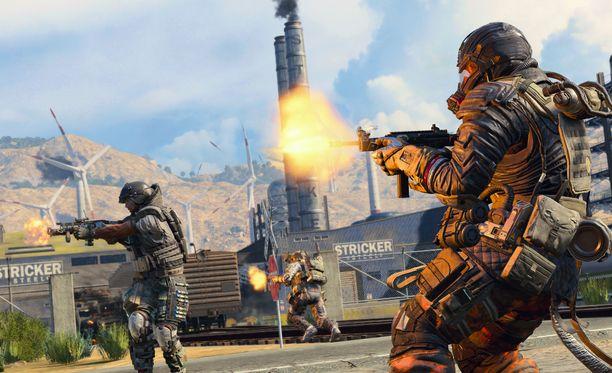 Black Ops 4 nousi hetkessä ladatuimpien pelien joukkoon.