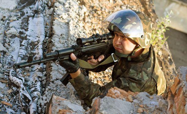 Tulevaisuudessa sotilas saattaa osua kohteeseen, vaikka tähtäys olisikin vähän niin ja näin.