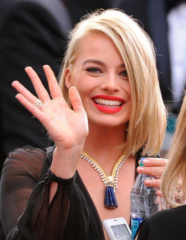 Margot Robbien korun hinta on 1,4 miljoonaa euroa.