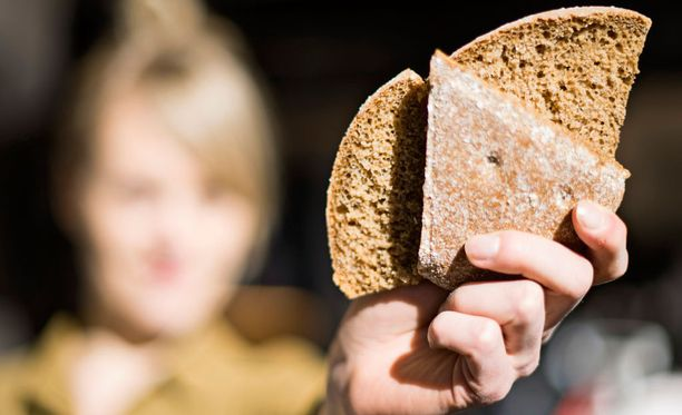 Perinteinen ruisleipä saattaa aiheuttaa herkkävatsaiselle oireita.