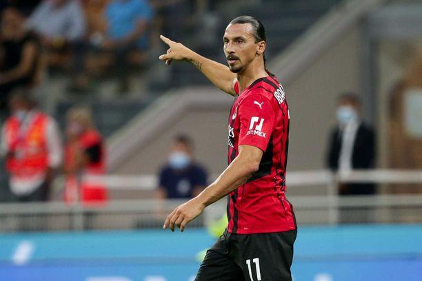 Zlatan Ibrahimovic ei pelaa Mestarien liiga -avauksessa.