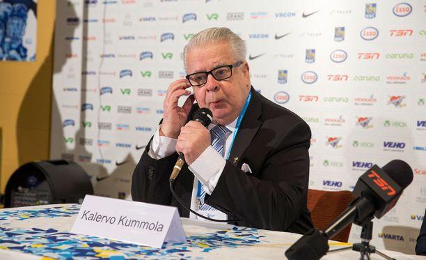 Kalervo Kummola uskoo, että NHL-pelaajat nähdään vielä jonain päivänä olympialaisissa.