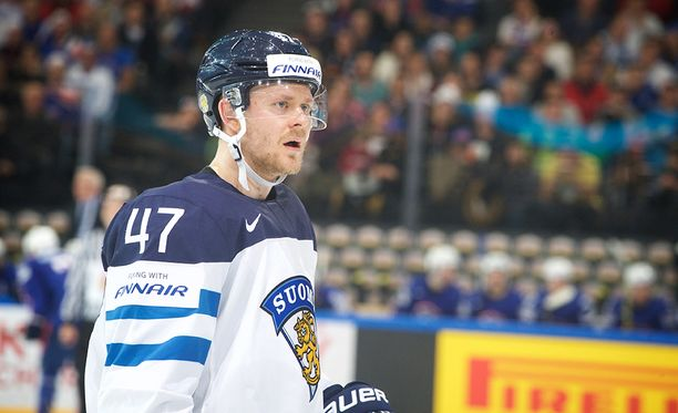 Ville Lajunen ei ollut uskoa Ranskan virettä todeksi.