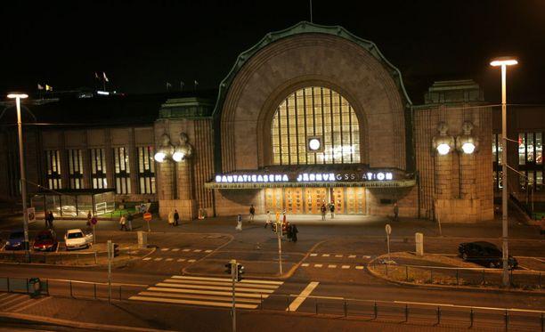 Seksiä on yritetty ostaa Helsingin rautatieasemalla joulun aikaan.