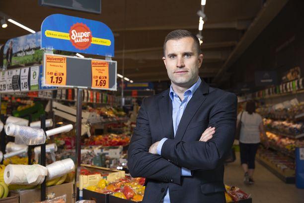 Lidlin Suomen toimitusjohtaja Nicholas Pennanen.