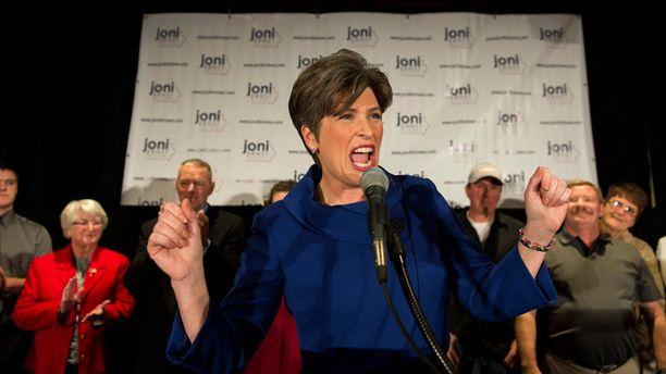 Joni Ernst on republikaanien kirkkaimpia uusia tähtiä.