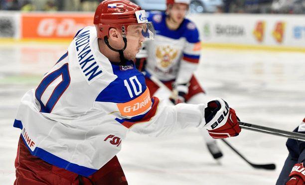 Sergei Mozjakin on tuttu näky Venäjän maajoukkuepaidassa.