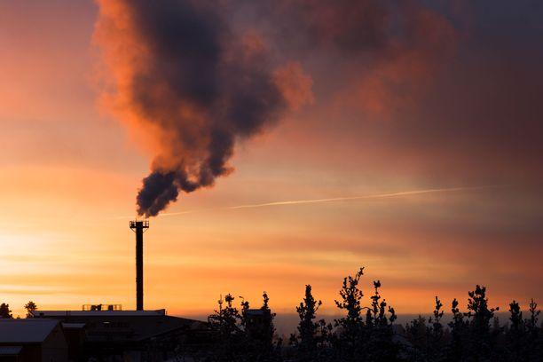 """Ympäristökatastrofin uhka voi herättää """"pyhää pelkoa""""."""
