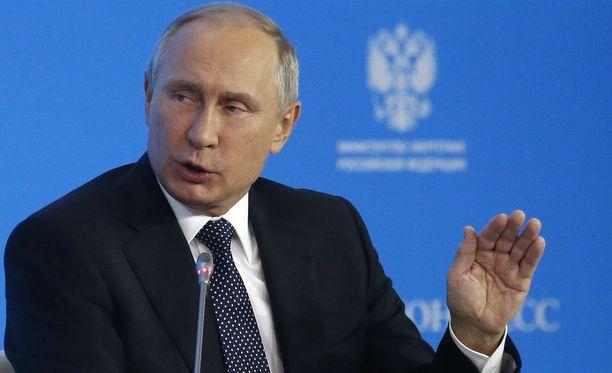 Putin kehotti Yhdysvaltoja malttiin Pohjois-Korean suhteen.