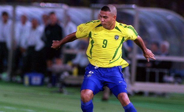 Ronaldon vuoden 2002 hiustyyli jäi monelle mieleen.