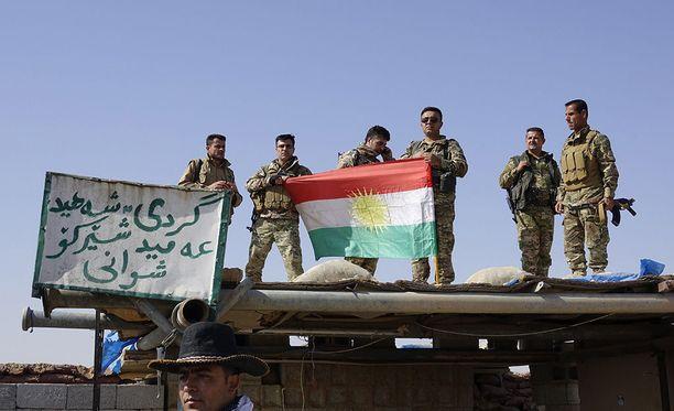 Irakin kurdien peshmerga-joukot ovat puolustaneet Kirkukin kaupunkia Isiä vastaan sen jälkeen, kun Irakin hallinnon joukot pakenivat äärijärjestön taistelijoita vuonna 2014.