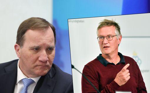 Ruotsalaisten luottamus hallitukseen ja terveysviranomaisiin romahti