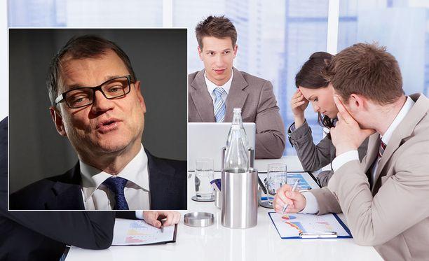 Kilpailukykysopimus on pääministeri Juha Sipilän hallituksen jättihanke.