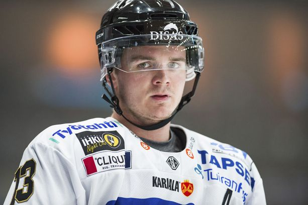 Kärppien Julius Junttila on Liigan tehokkain pelaaja.
