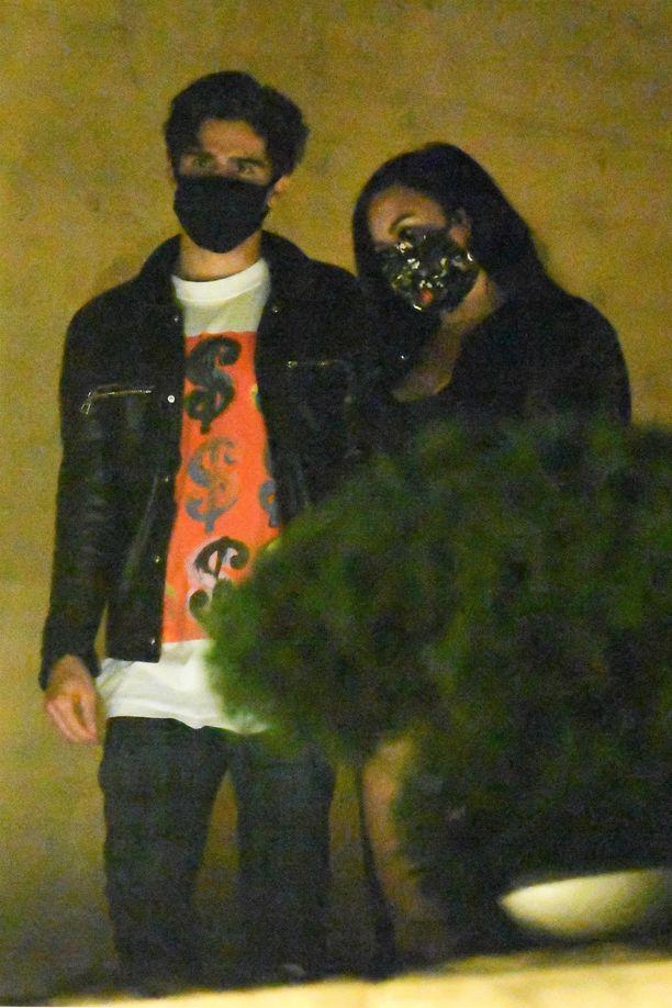 Demi Lovato ja Max Ehrich kesällä 2020.