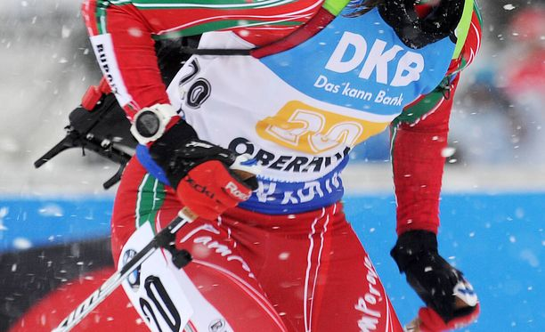 Bulgarialaisurheilija on asetettu pannaan. Kuvituskuva.