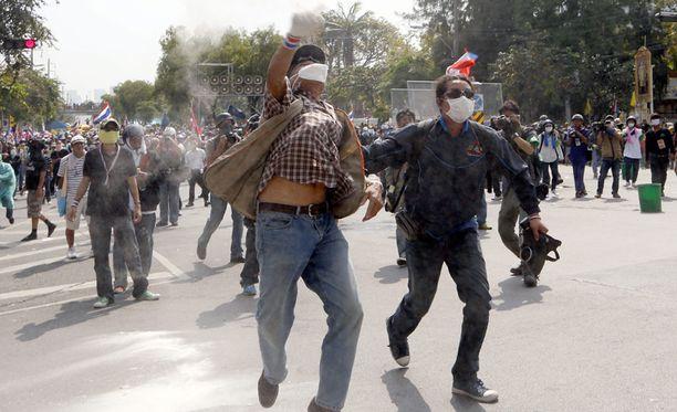 Mielenosoitukset ovat muuttuneet väkivaltaisiksi.