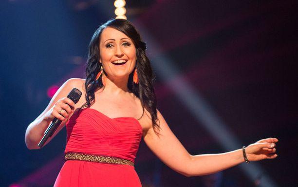 Nina Åkerman tuli kolmanneksi vuonna 2015.