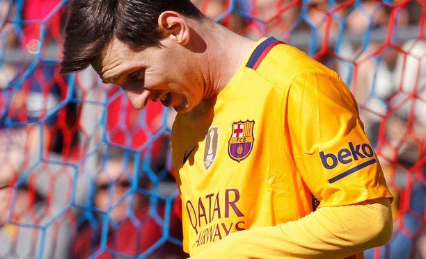 Leo Messi haluaa eroon munuaiskivuista.