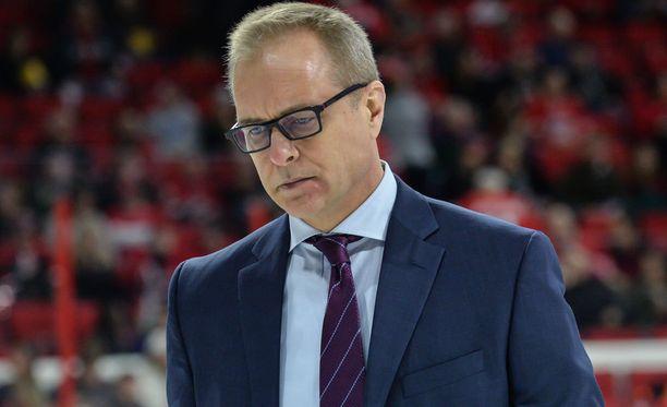 Winnipeg Jetsin valmentaja Paul Maurice on vähän pulassa, kun tärkeitä pelaajia loukkaantuu koko ajan.
