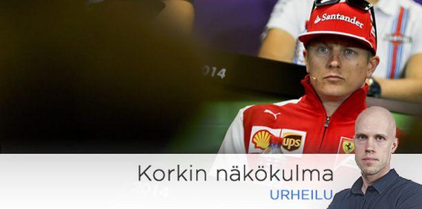 Ferrarin Kimi Räikkönen (kuvassa) on jo väläyttänyt vauhtiaan aika-ajoissa. Seuraavaksi se löytyy myös kisoissa.