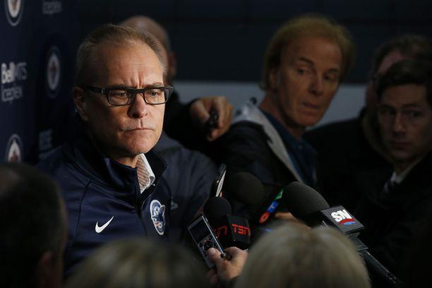 Winnipeg Jetsin valmentajan Paul Mauricen mukaan Patrik Laine ei sanonut mitään, mitä ryhmä muita pelaajia ei olisi sanonut.