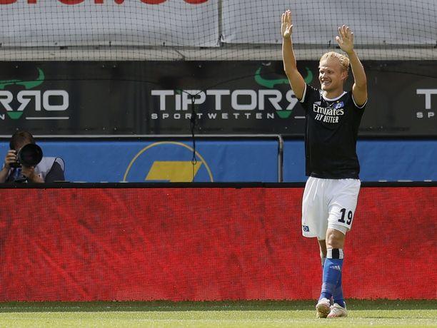 Joel Pohjanpalon lainapesti HSV:ssä oli loistava. Mies teki 9 maalia 14 ottelussa.