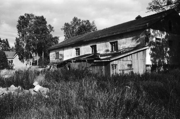 Nordsjön kartano 70-luvulta. Paikan historia ulottuu satojen vuosien päähän.