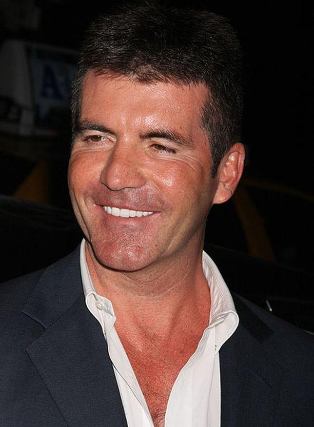 Simon Cowell oli aurinkoisella tuulella New Yorkissa keväällä 2009.