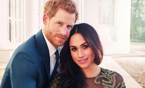 Prinssi Harry ja Meghan Markle menevät naimisiin toukokuussa.
