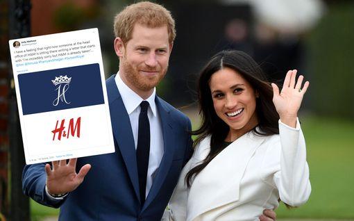 Varastavatko Harry ja Meghan seuraavaksi vaateketju H&M:n logon? Suhmurointi markkinoinnissa naurattaa somessa
