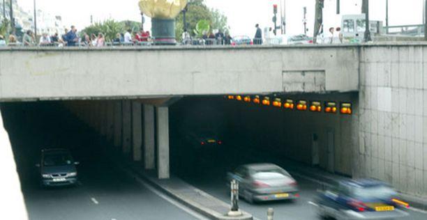 Kohtalokas onnettomuus sattui pariisilaisessa alikulkutunnelissa.