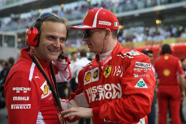Kimi Räikkönen ajoi sunnuntaina viimeisen F1-kisansa Ferrarilla. Abu Dhabin GP päättyi teknisen vian aiheuttamaan keskeytykseen.