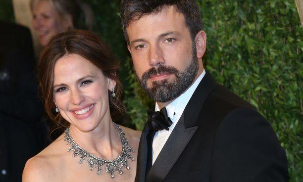 Tältä Jennifer Garner ja Ben Affleck näyttivät vielä vuonna 2013.