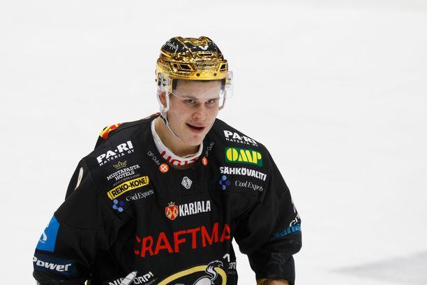 Jesse Puljujärvi on pelannut vakuuttavan syksyn Kärppien paidassa.