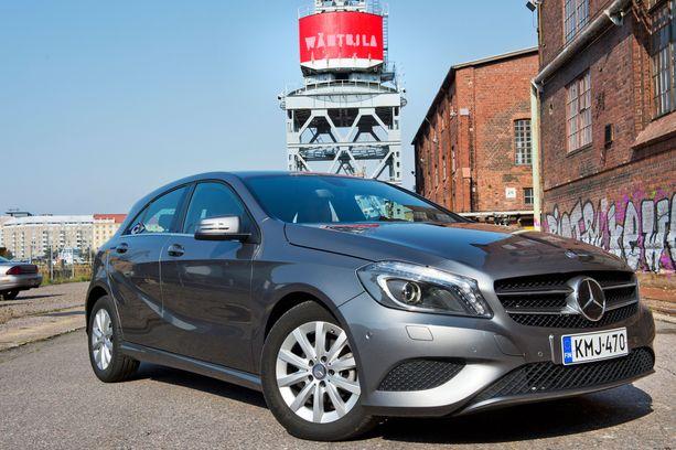Suomalainen laatutuote, A-sarjan Mercedes on yksi Saksan katsastustilastojen kärkimalleja.