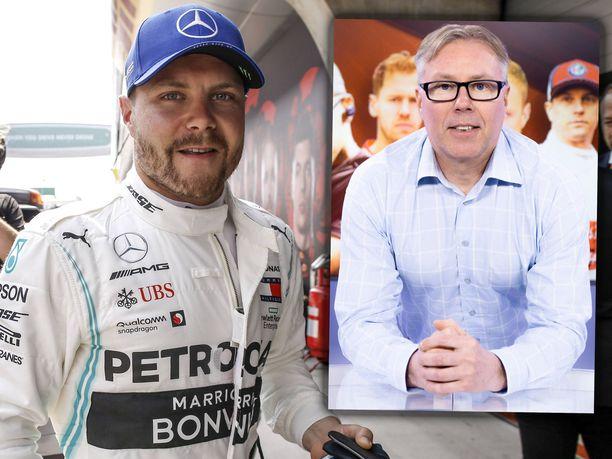 Iltalehden F1-asiantuntijan Jyrki Järvilehdon mukaan Valtteri Bottas oli huomattavasti tallikaveriaan paremmin sinut Mercedeksen W10-auton kanssa.