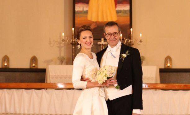 Toomas Hendrik Ilves ja Ieva Kupce saivat toisensa.