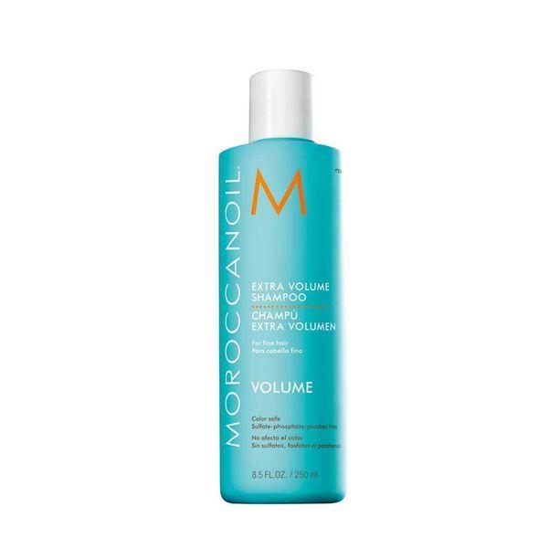 Moroccanoilin tuuheuttava Extra Volume -shampoo sopii ohuille hiuksille, 27 e