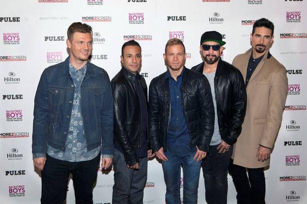 Backstreet Boys on tehnyt dokumenttielokuvan urastaan.