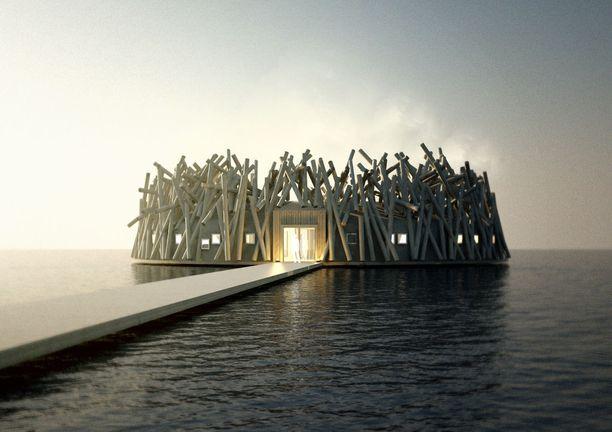 Persoonallinen kylpylähotelli on suunnitteilla Pohjois-Ruotsiin.