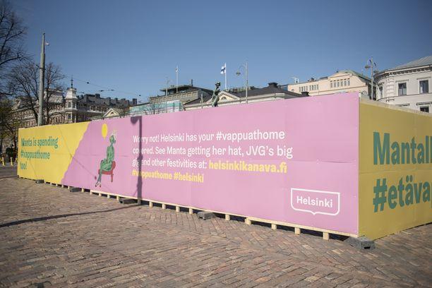 Viime vappuna Helsingin kaupunki rajoitti ihmisten kokoontumista ei-lainsäädännöllisillä keinoilla. Havis Amandalle tuskin kokoonnutaan tänäkään keväänä.