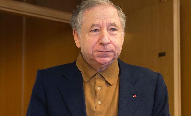 Jean Todt osallistuu Helsingissä FIA:n kongressiin.